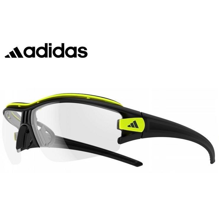 アディダス 調光サングラス adidas a181 6091 EVIL EYE HALFRIM PRO 度付き 対応 可能 メンズ 男性向け 大きめサイズ スポーツサングラス 調光 サングラス