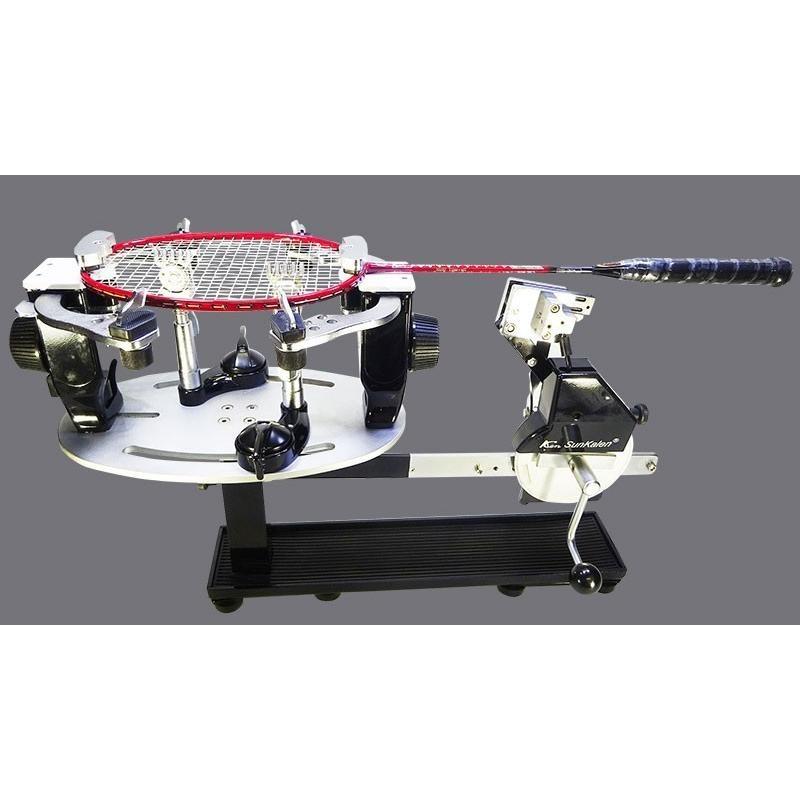 ガット張り機:2クランプ式卓上ガット張り機