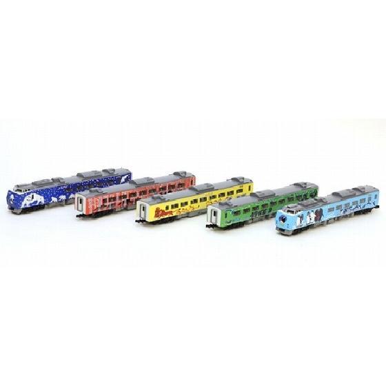 (鉄道模型)TOMIX : 92988 <限定>キハ183系特急ディーゼルカー(旭山動物園号)セット