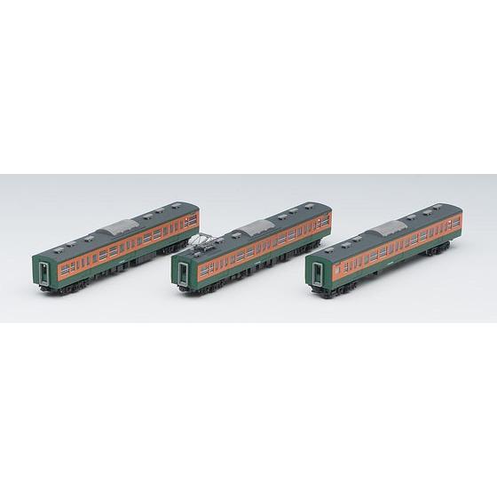 (鉄道模型)TOMIX:98226 115 300系近郊電車(湘南色)増結セットB(3輌)