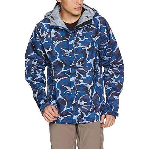 カナディアンイースト 登山・アウトドア用 3レイヤー マウンテンジャケット CEW2331 メンズ アーミーブルー 日本 XL (日本サイズ