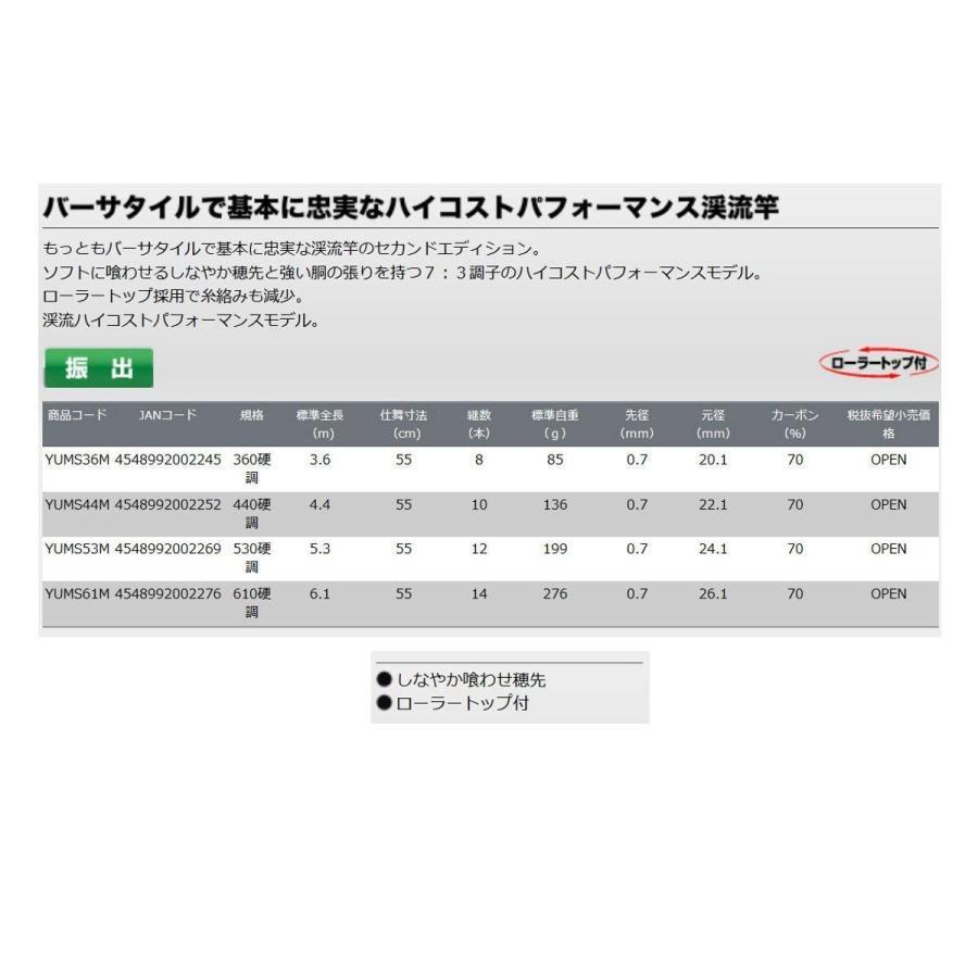 プロックス (PROX) 夕峰 SE YUMS36M 360硬調