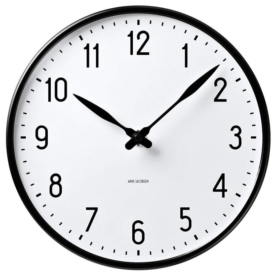 正規輸入品Arne Jacobsen Station Wall Clock 210 43633