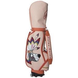 ノイジーノイジー インディアンキャディーバック 8.5型 4.7kg(オレンジ) NOISY-90022