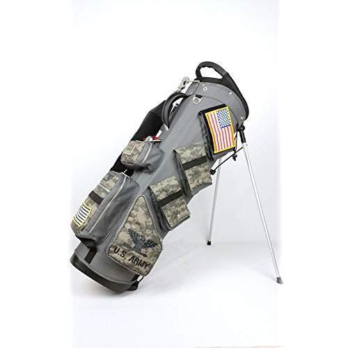 ARMY_BASE_コレクションABC-019SBARMY_BASE_スタンドバッグ/専用アイアンカバー付9型/口枠5分割