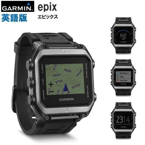 GARMIN epix 腕時計型GPS 英語版(エピックス英語版) 010-01247-00