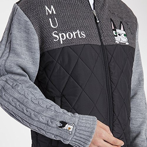 MU SPORTS(エム ユースポーツ) 2016AWシリーズ メンズ ブルゾン 700U6654 グレイ 50 700U6654