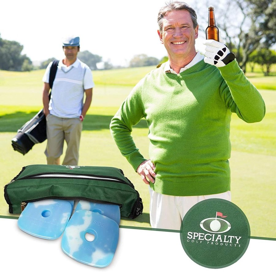 (no ice packs) - Stealth Golf Cooler Bag Makes Great Holiday Gift for