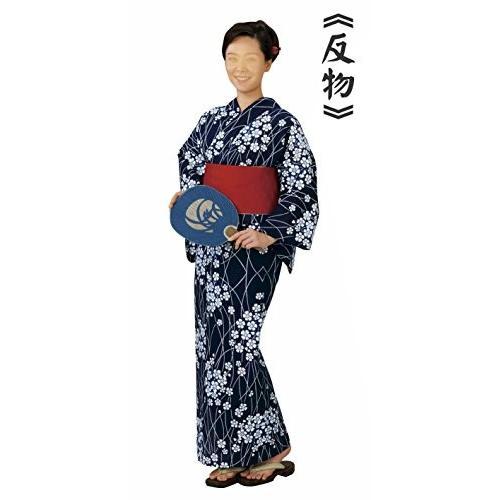 レディース浜松本染ゆかた 反物(bo4401)婦人 女性用 浴衣 綿 麻 日本製