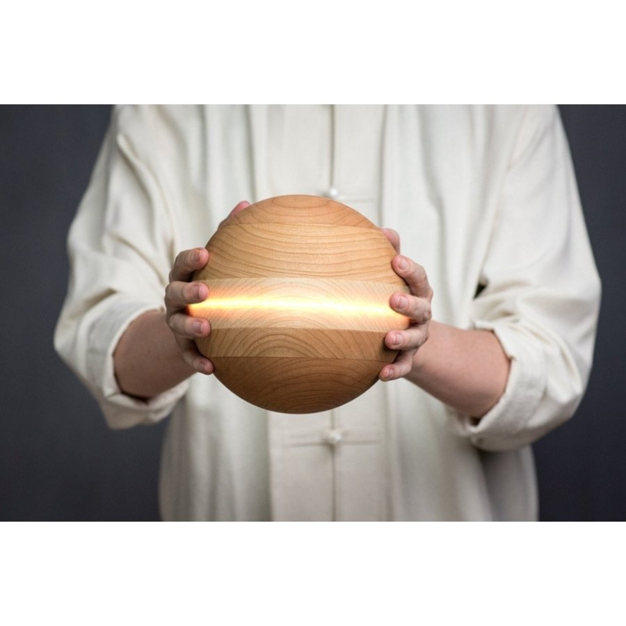 新品?正規品  Tai Chiボール???Saturn (YMAAアーティザンシリーズ) with太極拳D 7インチ Tai Chiボール???Saturn、4???5ポンド、ミックス木製。Use with太極拳D, 松之山町:0604a7e4 --- airmodconsu.dominiotemporario.com