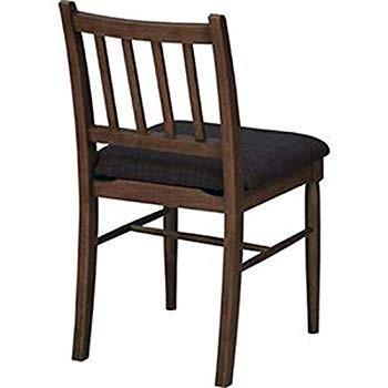 ダイニングチェア/食卓椅子・2脚セット・-幅42cm-・ラッカー塗装・ポリエステル・-キッチン・台所・リビング・店舗-