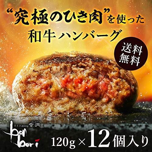 送料無料(本州)究極のひき肉で作る 牛100% ハンバーグステーキ 120g×12個入り (プレーン120g)|sunrise-eternity|03
