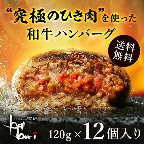 送料無料(本州)究極のひき肉で作る 牛100% ハンバーグステーキ 120g×12個入り (プレーン120g)|sunrise-eternity|07