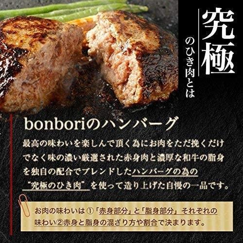 送料無料(本州)究極のひき肉で作る 牛100% ハンバーグステーキ 120g×12個入り (プレーン120g)|sunrise-eternity|10