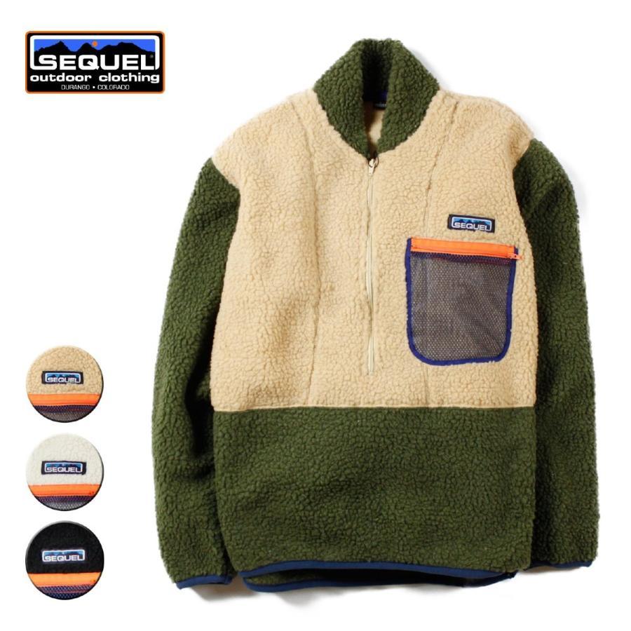 フリース ジャケット ブランド メンズ レディース 新品 薄手 登山 フリースジャケット アウトドア アウトドアブランド SEQUEL
