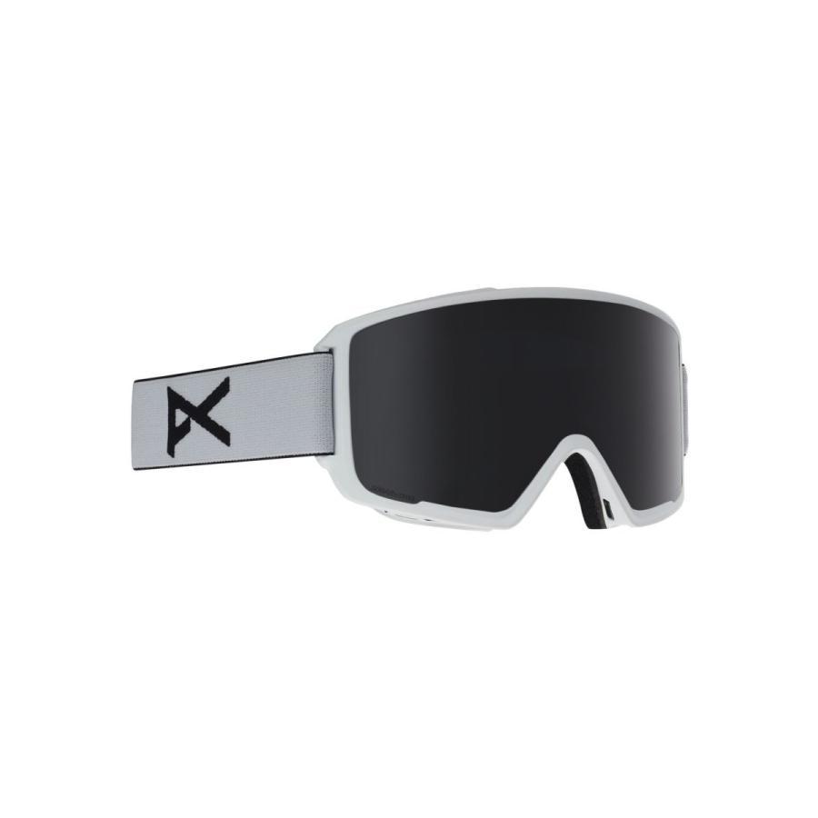 高質で安価 Anon(アノン) スノーボード スキー ゴーグル メンズ M3 ASIAN FIT WITH SPARE 2018-19年モデル WHITE/SO, ホスピマート ca989b50