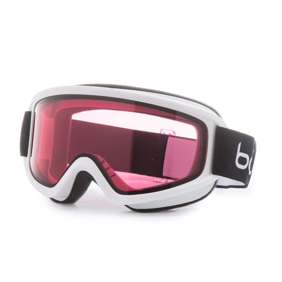 ボレー (Bolle) フリーズ FREEZE スキー スノーボード ゴーグル アンチフォグ ダブルレンズ (Shiny 白い) [並行輸入品