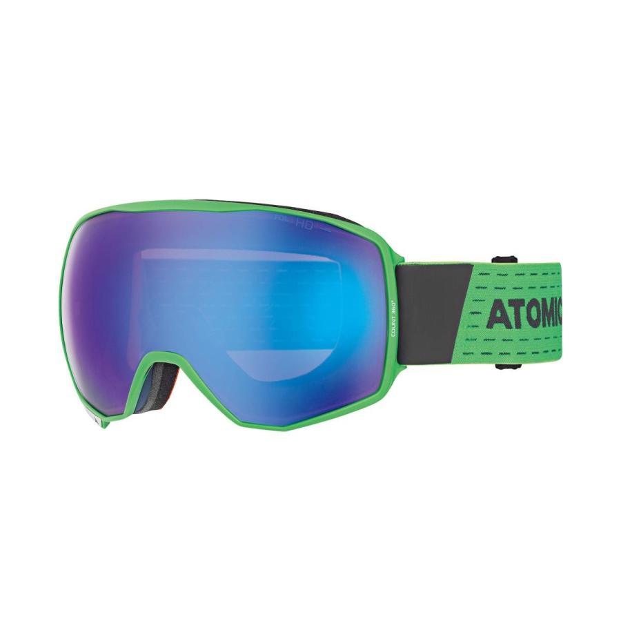 『1年保証』 ATOMIC(アトミック) スキーゴーグル COUNT 36° HD (カウント 36° HD) AN515764 Green/Grey, 結姫(musubime) 70d3d874