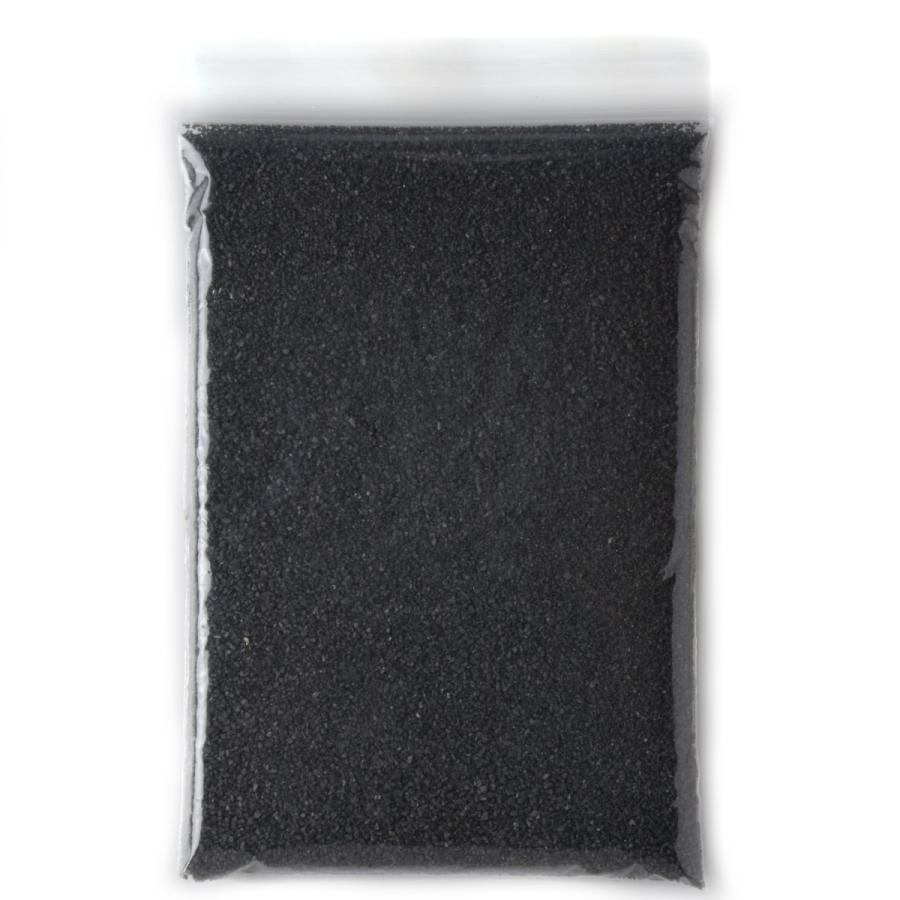 カラーサンド 日本製 デコレーションサンド 粗粒(1mm位) Nタイプ 黒(10) 200g|sunsins|04