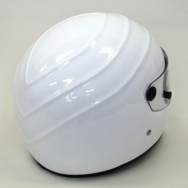 ●SIMPSON風 ヘルメット フルフェイス バイク用品 金具腐食 製造年不明 SGマーク無 男女兼用 【XL】 ホワイト  シンプソン ヘルメット H-9212N【中古】|sunstep|02