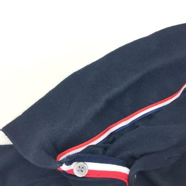 トムブラウン トリコロール ストライプ ポロシャツ コットン 鹿の子 半袖 日本製 ネコポス可 メンズ THOM BROWNE トップス DM1399■|sunstep|05