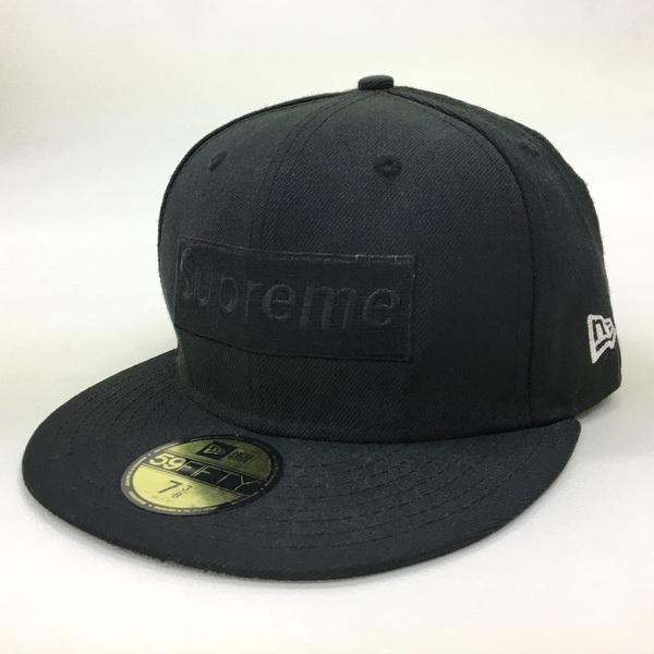 シュプリーム ニューエラ Tonal Box Logo New Era ボックスロゴ ベースボール キャップ サイズ7 3/8 58.7cm Supreme NewEra 帽子 DF0268■|sunstep