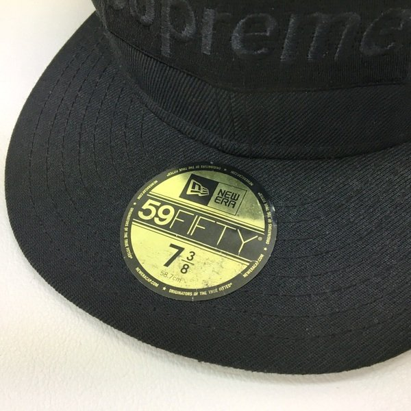 シュプリーム ニューエラ Tonal Box Logo New Era ボックスロゴ ベースボール キャップ サイズ7 3/8 58.7cm Supreme NewEra 帽子 DF0268■|sunstep|06