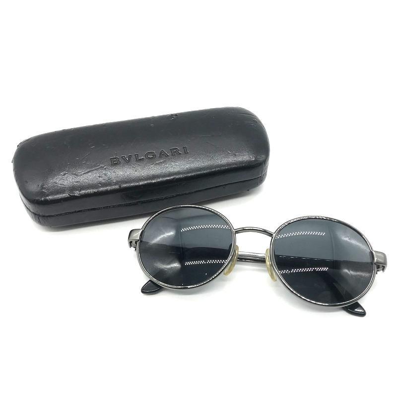 ブルガリ サングラス 眼鏡 メガネ アイウェア プレゼント 箱つき メンズ ブラック系 BVLGARI 服飾 B5060◆ sunstep 07