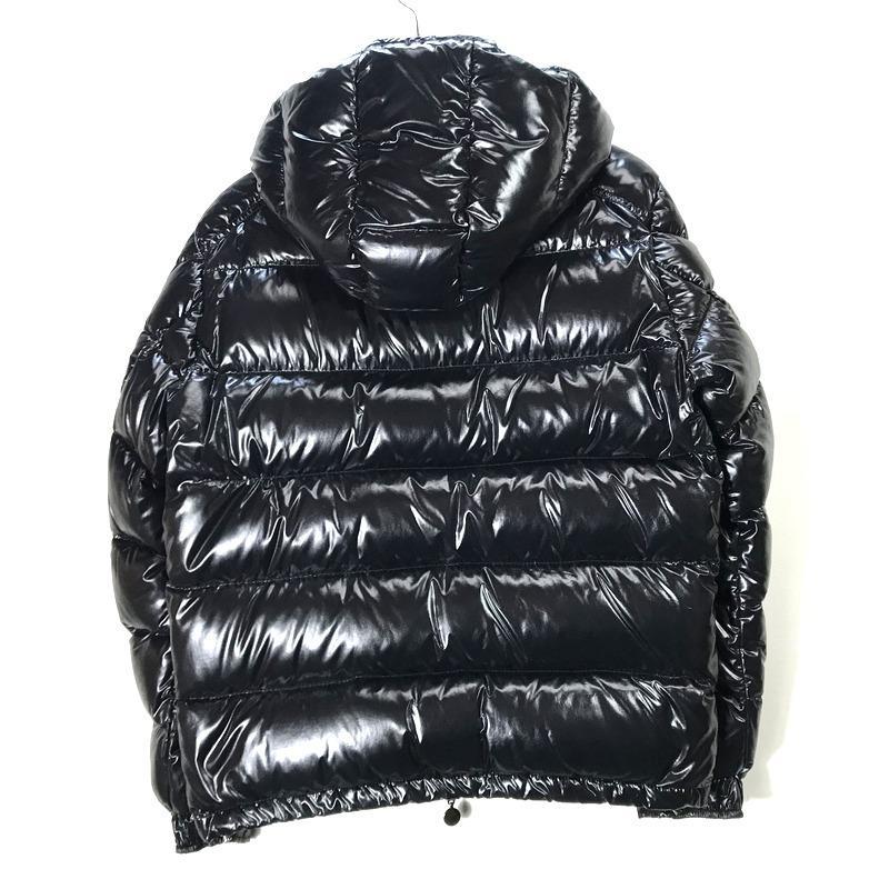 モンクレール MAYA GIUBBOTTO 020914036650 ダウンジャケット ブルゾン 防寒 サイズ1 Sサイズ相当 ブラック MONCLER アウター A5348◆◆|sunstep|02