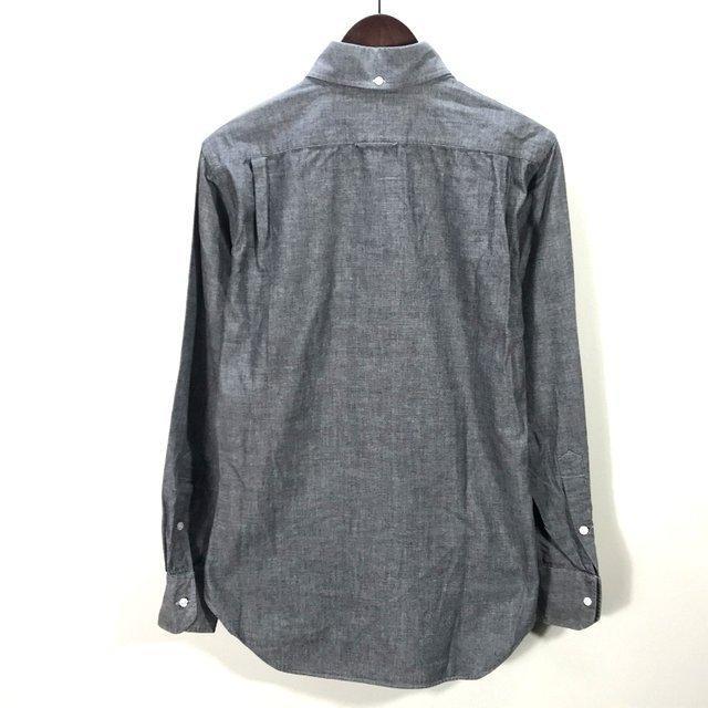 トム ブラウン シュプリーム OXFORD SHIRT 10SS 長袖 シャツ カジュアル コラボ 美品 メンズ サイズ1 グレー THOM BROWNE SUPREME トップス A6290◆ sunstep 02