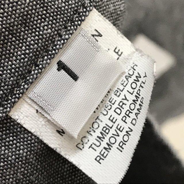 トム ブラウン シュプリーム OXFORD SHIRT 10SS 長袖 シャツ カジュアル コラボ 美品 メンズ サイズ1 グレー THOM BROWNE SUPREME トップス A6290◆ sunstep 07