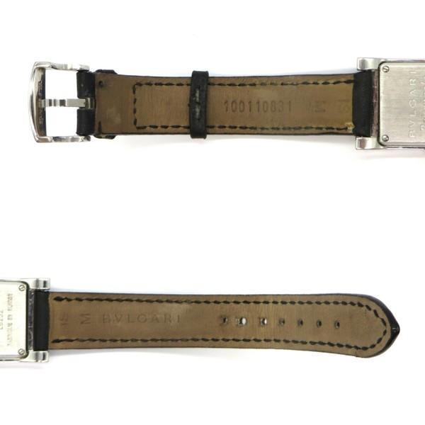 ブルガリ RT39S 腕時計 Rettangolo レッタンゴロ ブラックダイヤベゼル クォーツ アナログ  レディース   BVLGARI 時計 W5269☆|sunstep|06