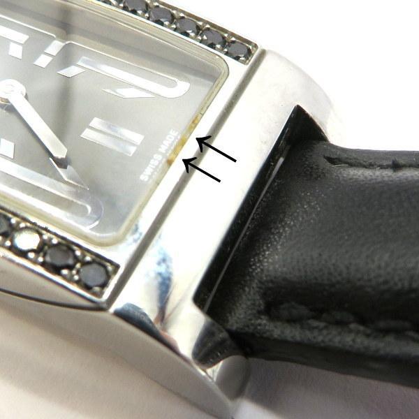 ブルガリ RT39S 腕時計 Rettangolo レッタンゴロ ブラックダイヤベゼル クォーツ アナログ  レディース   BVLGARI 時計 W5269☆|sunstep|08