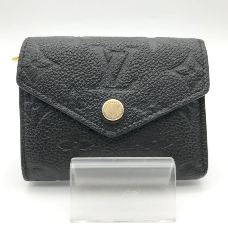 ルイヴィトン モノグラム 財布 M64060 SP2199 三つ折り財布 ミニ財布 コンパクト財布 レディース ブラック LOUIS VUITTON 服飾 E1324★|sunstep