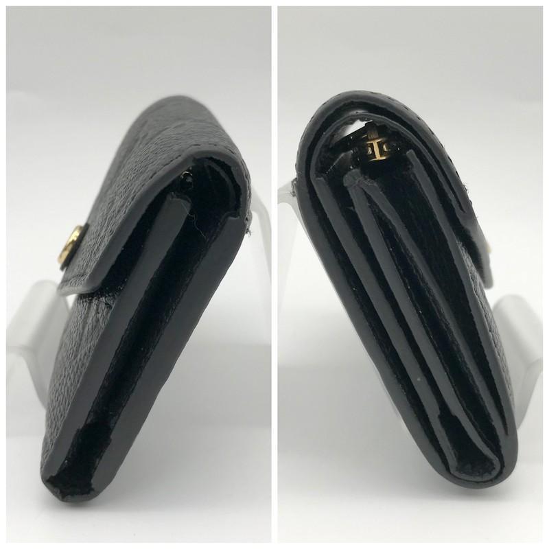ルイヴィトン モノグラム 財布 M64060 SP2199 三つ折り財布 ミニ財布 コンパクト財布 レディース ブラック LOUIS VUITTON 服飾 E1324★|sunstep|03