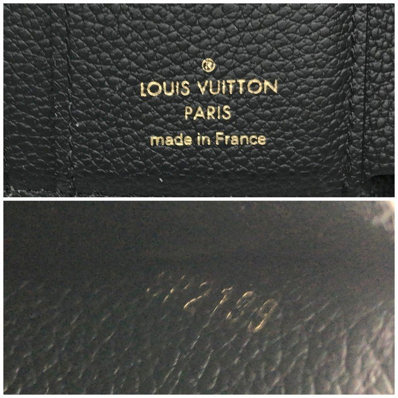 ルイヴィトン モノグラム 財布 M64060 SP2199 三つ折り財布 ミニ財布 コンパクト財布 レディース ブラック LOUIS VUITTON 服飾 E1324★|sunstep|05