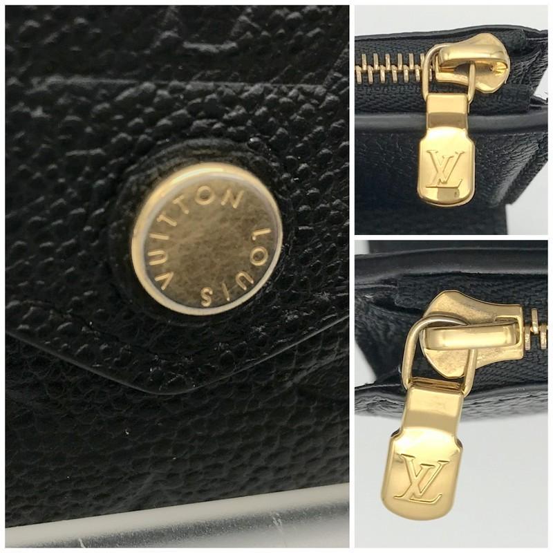 ルイヴィトン モノグラム 財布 M64060 SP2199 三つ折り財布 ミニ財布 コンパクト財布 レディース ブラック LOUIS VUITTON 服飾 E1324★|sunstep|10