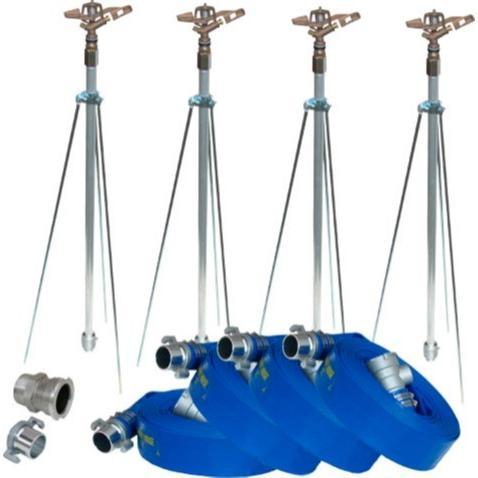 イリテックスプリンクラーNP ホースセットNPH-404 4 本立セット  40mm 高圧ホース
