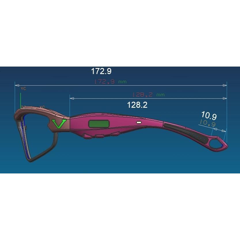 ミライモンスター・所さん大変ですよで話題!ビジョナップ・アスリート 動体視力トレーニング メガネ VA11-AF Visionup|sunward|12