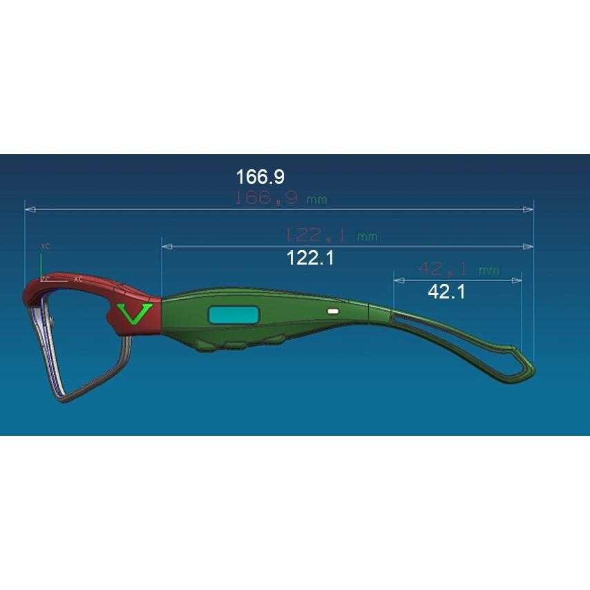 ビジョナップ・レディース/ジュニア 動体視力トレーニング メガネ VJ11-AF Visionup sunward 13