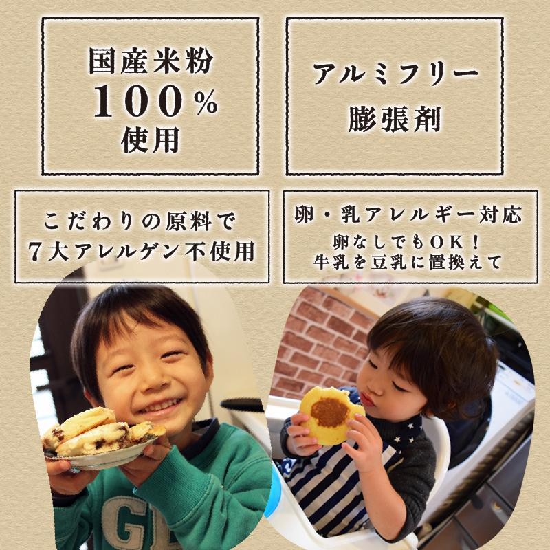 米粉 パンケーキ ミックス 200g グルテンフリー アルミフリー 国産|super-foods-japan|08