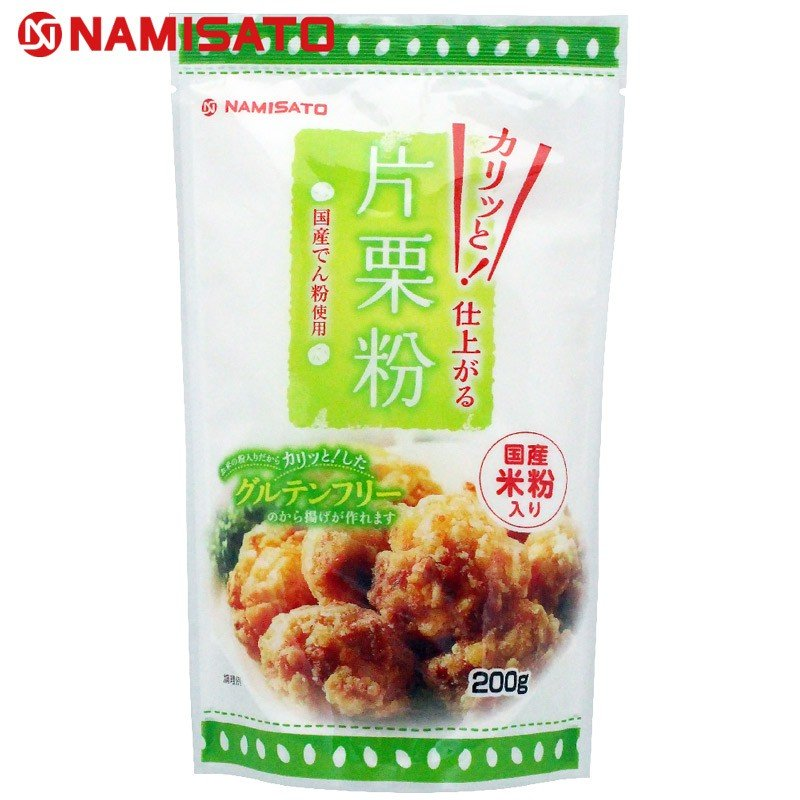 片栗粉 米粉入り スタンドパック 200g グルテンフリー 波里 namisato|super-foods-japan