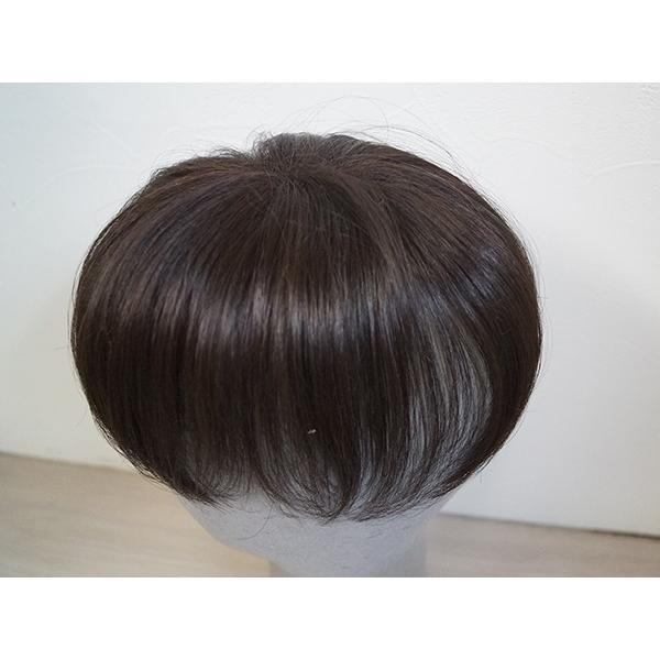 ふわり〜せお 101 女性用トップピース 軽いウイッグ 自然仕上げ ハンドメイド ご来店で調整カット無料|super-hair-seo|02