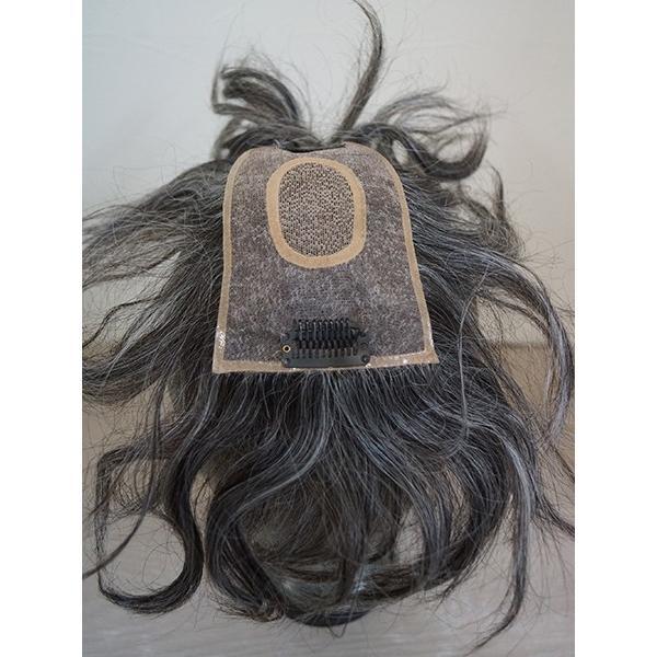 ふわりーせお 102 女性用トップピース 軽いウイッグ 自然仕上げ ハンドメイド|super-hair-seo|04