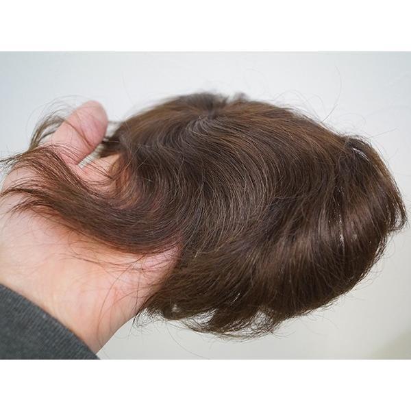 ふわりーせお103 女性用トップピース  軽いウイッグ 自然仕上げ ハンドメイド super-hair-seo
