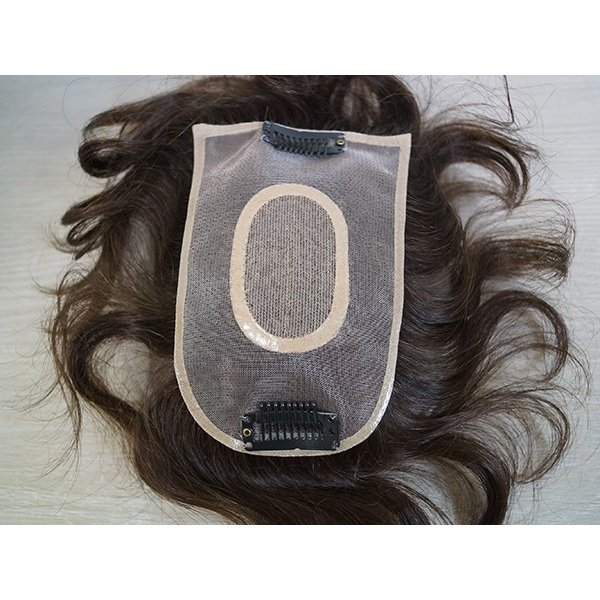 ふわりーせお103 女性用トップピース  軽いウイッグ 自然仕上げ ハンドメイド super-hair-seo 04