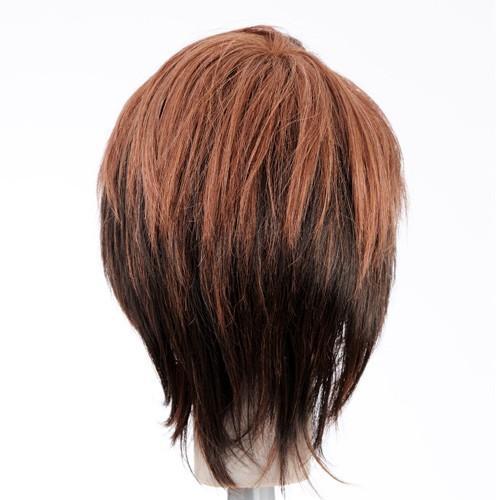 ピーチショート 軽いウイッグ 自然仕上げ ハンドメイド  ご来店で調整カット付き 医療用 |super-hair-seo|05