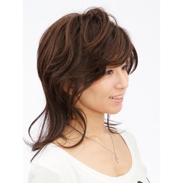 ネット限定価格 ソフトレイヤー 軽いウイッグ 自然仕上げ ハンドメイド  ご来店で調整カット付き 医療用|super-hair-seo