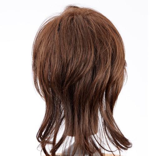 ネット限定価格 ソフトレイヤー 軽いウイッグ 自然仕上げ ハンドメイド  ご来店で調整カット付き 医療用|super-hair-seo|06