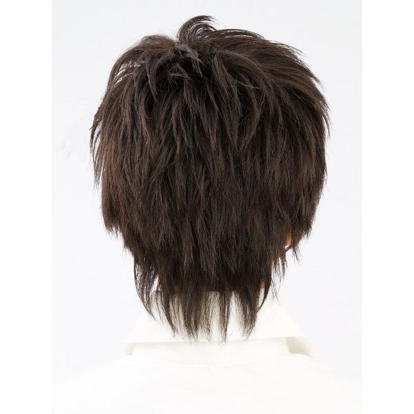 ネット限定価格 マッシュショート 軽いウイッグ 自然仕上げ ハンドメイド  ご来店で調整カット付き 医療用|super-hair-seo|04